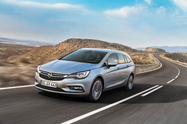 Fit for Job & Family: Der Opel Astra Sports Tourer feiert Weltpremiere