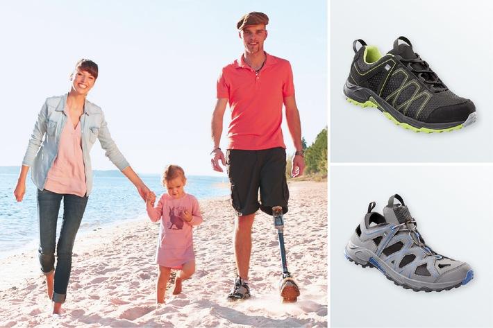 Der Sommer kann kommen / Die neuen medi Schuhe Summer Blue und medi M-Lite GS