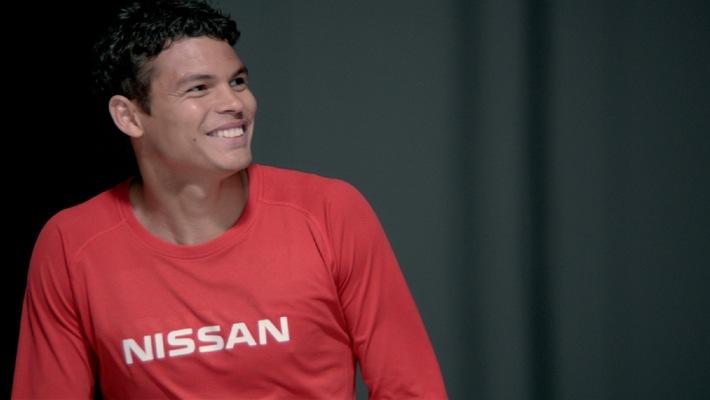 Officialisation d'Andrés Iniesta et de Thiago Silva au rang de nouveaux ambassadeurs de la marque Nissan