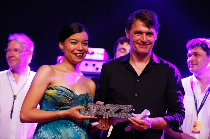 Media Service: Nicole Herzog & Stewy von Wattenwyl Group gewinnen den Swiss Jazz Award 2014