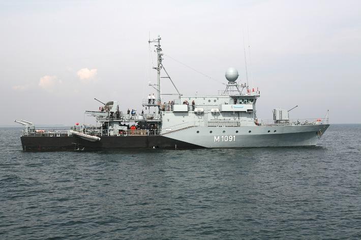 Marine - Pressemitteilung / Pressetermin: Einsatz vor dem Libanon - Zwei Marineboote aus Kiel starten in den UNIFIL-Einsatz