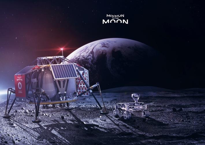 Deutschlands erste Mondlandung und das erste LTE-Netz im All: Die Erfinder und ihre Weltraumtechnik auf der Vodafone CeBIT-Pressekonferenz