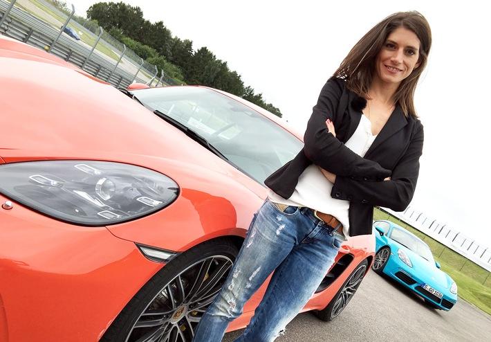 """GRIP - Das Motormagazin: """"Der neue Porsche Cayman 718 beim Drag Race"""""""