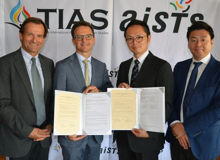 AISTS und TIAS verlängern ihre Partnerschaft bis 2020