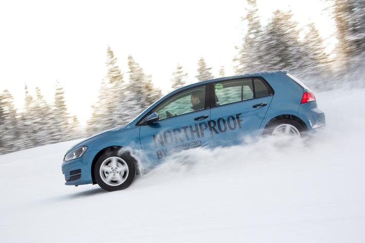 """Nokian WR ist Testsieger 2014 im """"Auto Bild Schweiz"""" Winterreifen-Test / Testsieger auch bei Auto Club Europa ACE, GTÜ, """"Auto Bild allrad"""", """"OFF ROAD"""" und ARBÖ mit Bestnoten"""