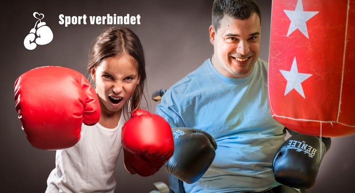 Gemeinsam Boxen mit und ohne Handicap - das geht.