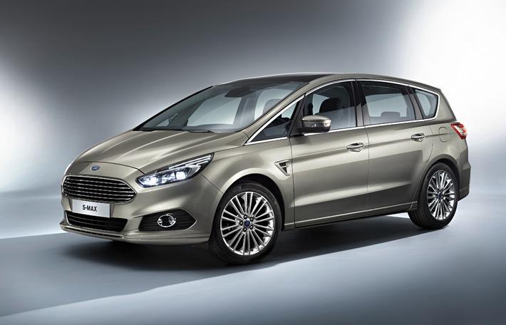 """Der neue Ford S-MAX siegt bei der Internationalen Auto Trophy 2014 in der Kategorie """"Bester Van"""""""