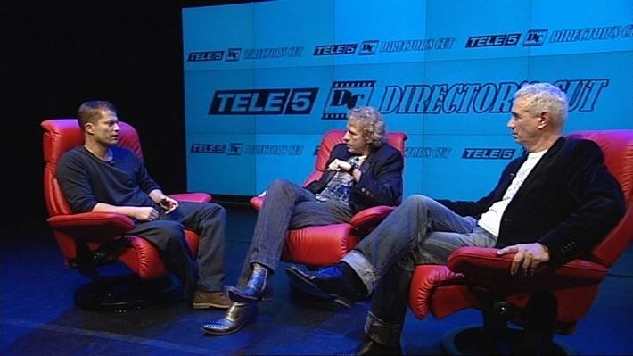 """Til Schweiger: """"Ich bin sehr einfühlsam.""""  Roland Emmerich: """"Ich wollte nie nach Hollywood!""""  Thomas Gottschalk im Interview mit Til Schweiger  und Roland Emmerich - exklusiv auf TELE 5"""