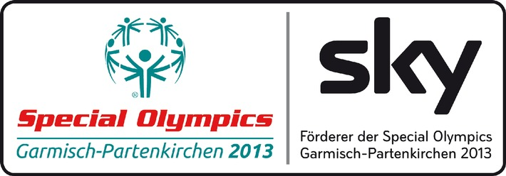 Sky Deutschland ist Förderer der Special Olympics Garmisch-Partenkirchen 2013