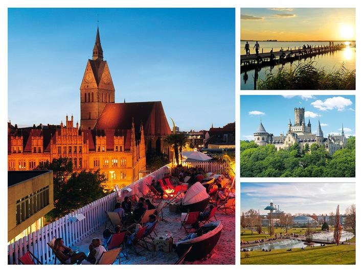 HMTG zieht Rekord-Jahresbilanz 2015: Die Landeshauptstadt Hannover erzielte im letzten Jahr 2.232.282 �bernachtungen, die gesamte Region Hannover verzeichnete 3.866.030 Gästeübernachtungen