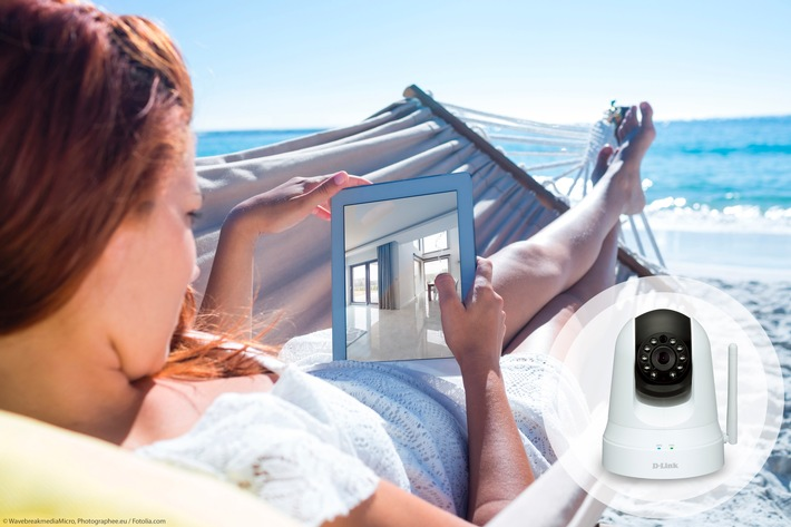 Keine Chance für Einbrecher - entspannt in den Sommerurlaub dank Wireless-Kameras