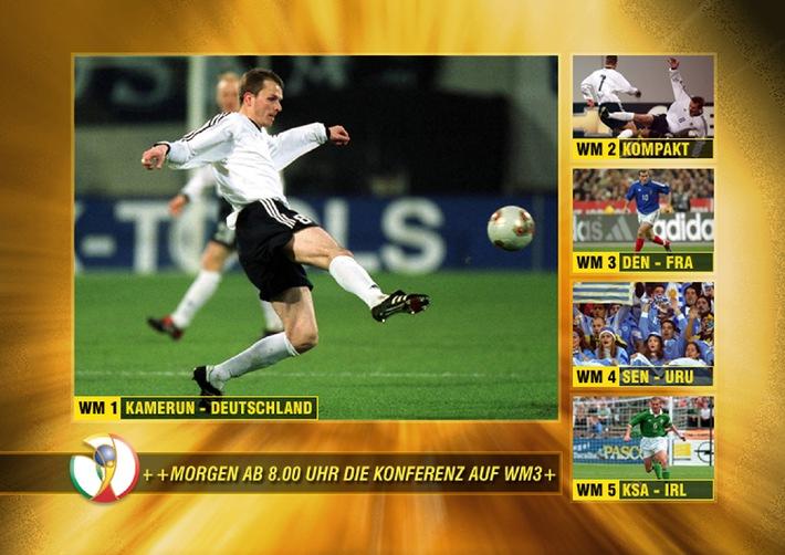 WM der Superlative: 1400 Stunden Fußball-WM auf Premiere / Alle 64 Spiele live / Kompletter Überblick mit WM-Portal / 1400 Stunden Fußball