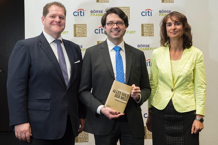 Deutscher Finanzbuchpreis 2014 geht an Daniel D. Eckert