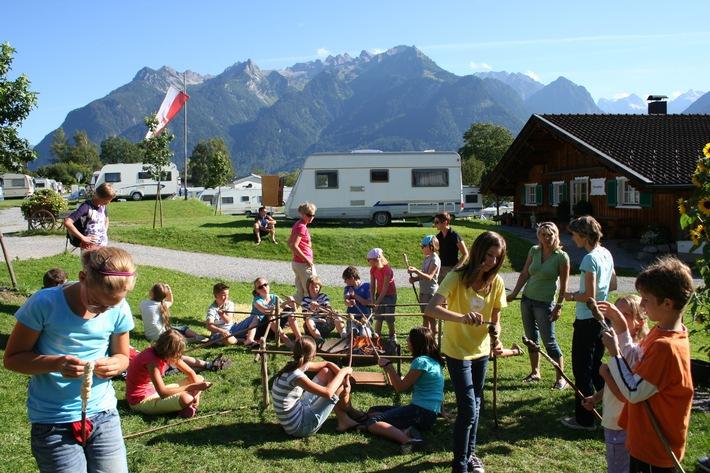 Unterwegs zuhause - Camping in Vorarlberg