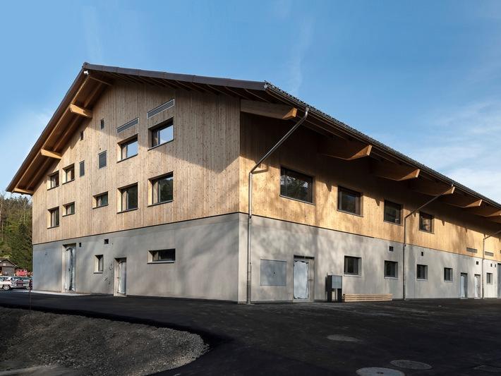Auffang-, Pflege- und Quarantänestation unter einem Dach im Natur- und Tierpark Goldau