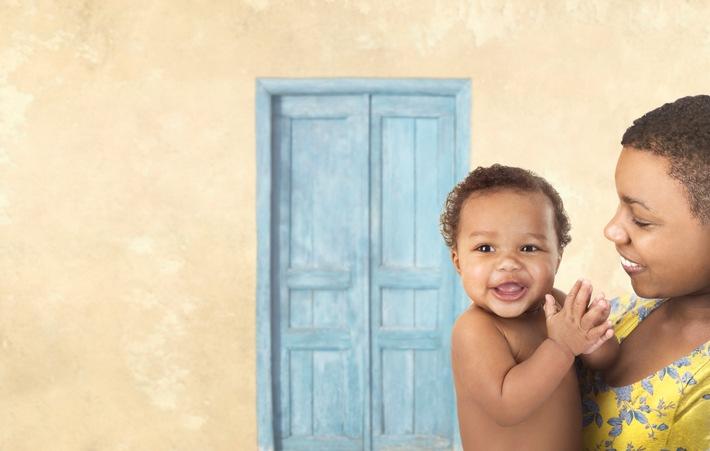 Pampers und UNICEF - seit zehn Jahren gemeinsam gegen Tetanus bei Neugeborenen