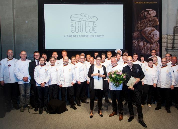 Festgala macht deutsche Brotkultur als Genuss für alle Sinne erlebbar - Schauspieler Simon Licht ist Botschafter des Deutschen Brotes 2016