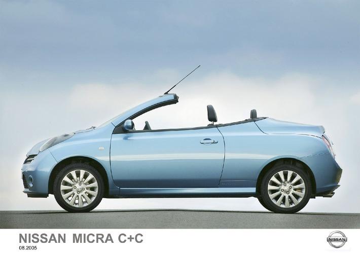 Nissan au Salon de l'Automobile de Francfort 2005 (IAA): Trois nouvelles compactes avec une NOTE bien pariculière