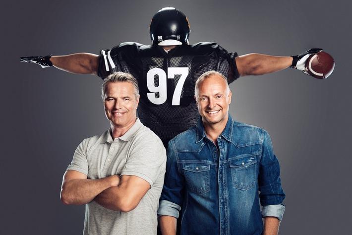 An jedem verdammten Sonntag: ran an die NFL auf ProSieben MAXX! Kickoff am 13. September 2015, 18:55 Uhr, Seattle Seahawks bei den St. Louis Rams sowie Baltimore Ravens bei den Denver Broncos
