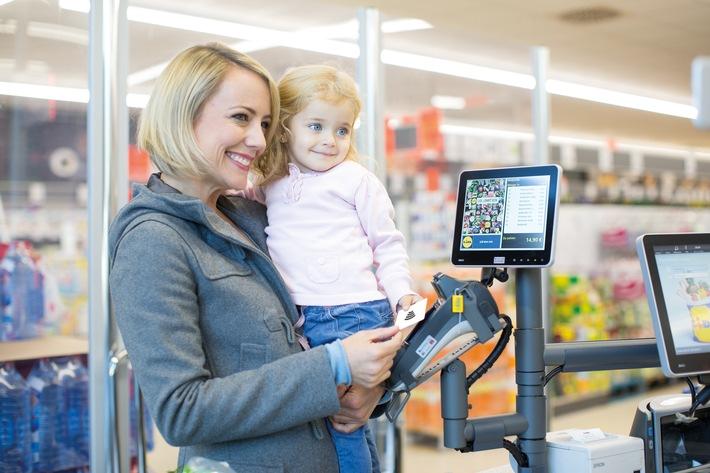 Lidl führt kontaktloses Bezahlen ein / Lidl ermöglicht seinen Kunden deutschlandweit die Kontaktloszahlung per Smartphone oder NFC-Bezahlkarte