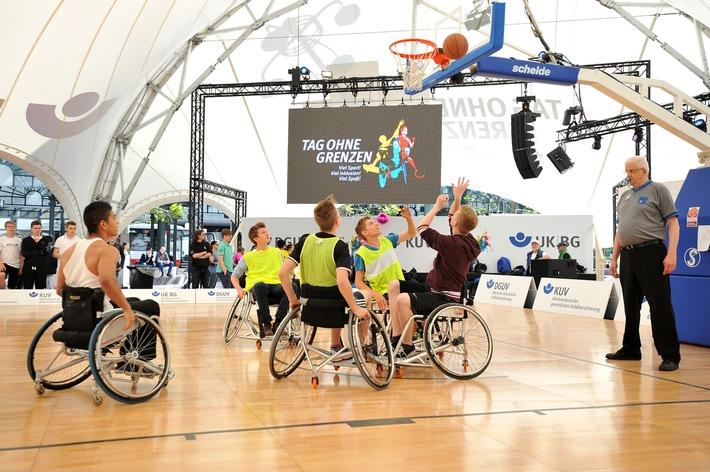 """Der """"Tag ohne Grenzen"""" wirbt für Inklusion / Großer Aktionstag des Reha- und Behindertensports in Hamburg"""