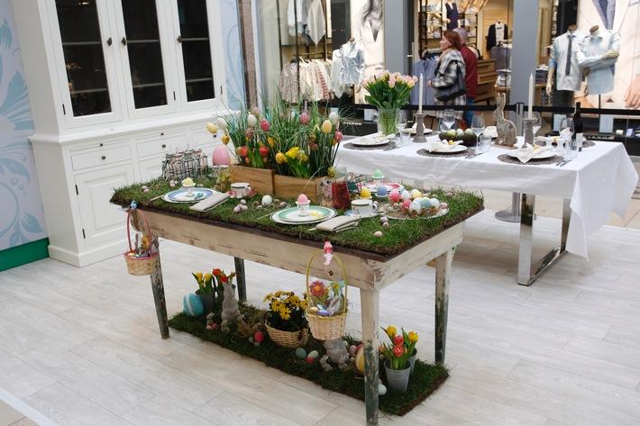 """Prominente gestalten """"The Perfect Easter Table"""" im Alstertal Einkaufszentrum Hamburg / Charity-Aktion"""