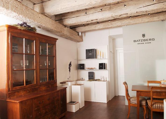 Edles aus der Werkzeugschmiede: Eröffnung der ersten Batzberg Boutique in Zürich