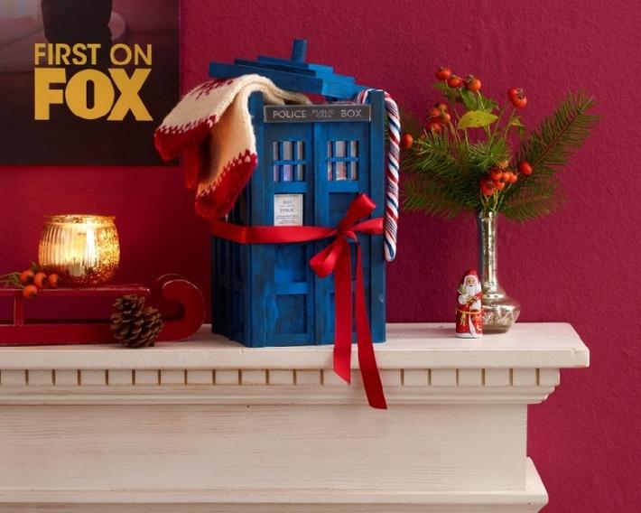 """DIY-Geschenkidee für """"Doctor Who""""-Fans zu Weihnachten: Zeitmaschine Tardis zum Selberbauen"""