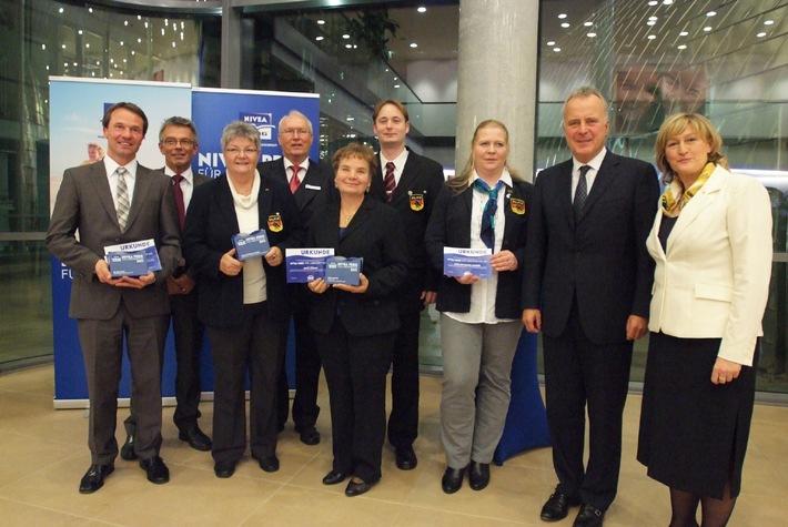Große Gala für NIVEA Lebensretter / Auszeichnung für Zivilcourage und bürgerschaftliches Engagement (mit Bild)