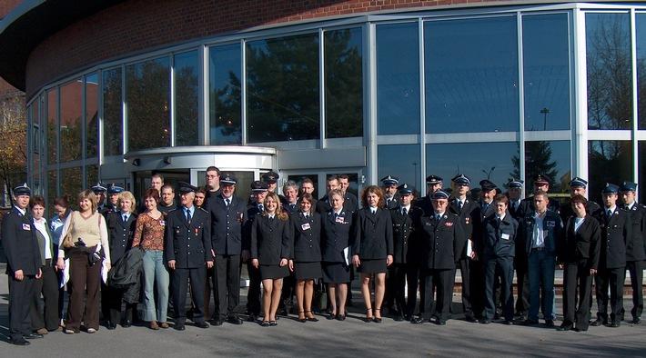 FW-E: 6. deutsch-polnisches Seminar der Jugendfeuerwehren in Essen