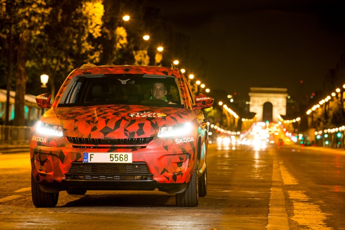 SKODA KODIAQ feiert Messedebüt in Paris und startet in Deutschland ab 25.490 Euro