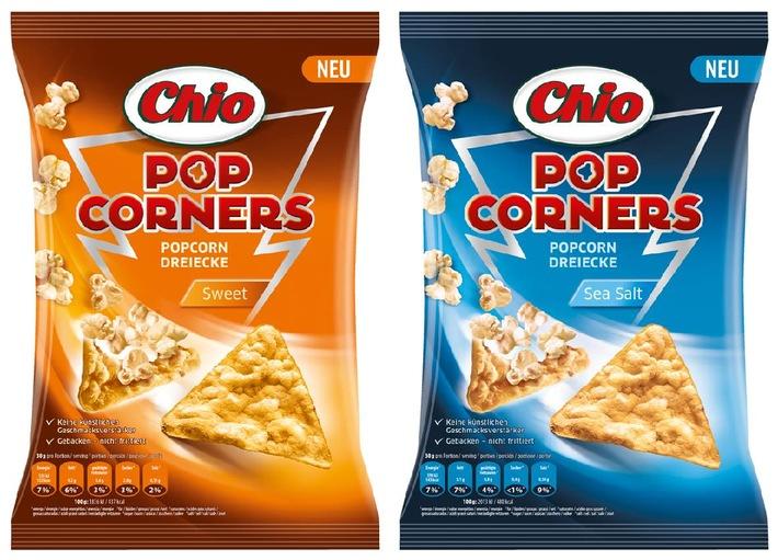 Mein Popcorn hat drei Ecken! / Chio PopCorners - das erste Popcorn in Dreiecksform