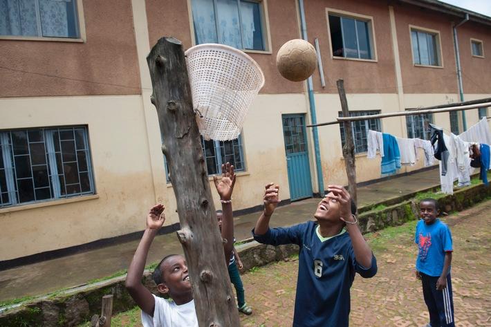 Abebech-Gobena-Kinderheim in Addis Abeba: Menschen für Menschen Schweiz gibt Kindern eine Zukunft