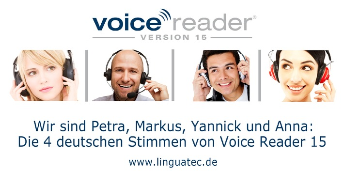Beliebige Texte professionell vertonen in 25 Sprachen - mit natürlich klingenden Stimmen, die kaum mehr von einem menschlichen Sprecher zu unterscheiden sind