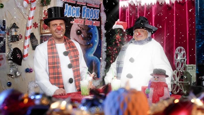 """Schneemann meets Serienkiller! """"SchleFaZ: Jack Frost - Der eiskalte Killer"""" als Free TV-Premiere am 16. Dezember um 22:10 Uhr auf TELE 5"""