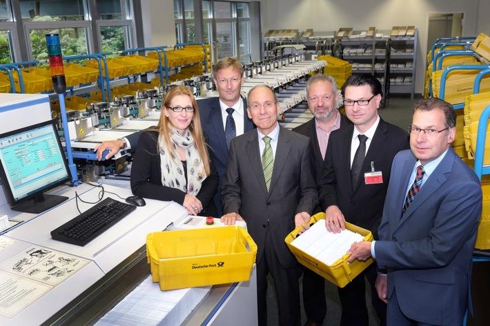 """Der """"grüne"""" Postbote: Neue Kooperation mit der Deutschen Post"""