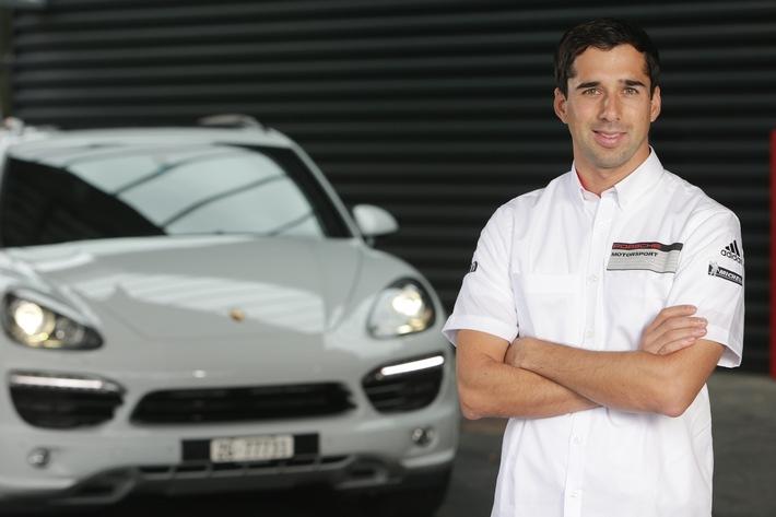 Neel Jani übernimmt seinen Porsche Cayenne Diesel (Bild)