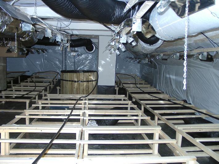 POL-HI: Cannabis Indoor Anlage ausgehoben