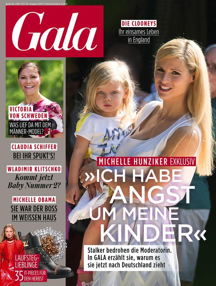 Michelle Hunziker hat Angst um ihre Kinder