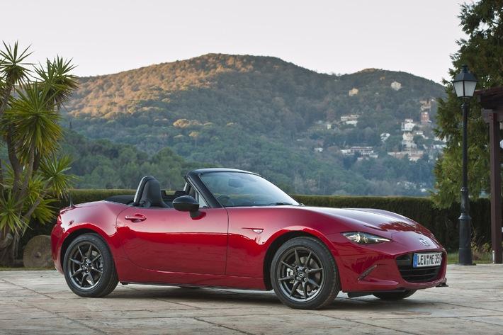 Mazda MX-5 - Der Roadster ist zurück / Fahrspass für jedermann: Das verkörpert der Roadster Mazda MX-5 seit inzwischen 25 Jahren