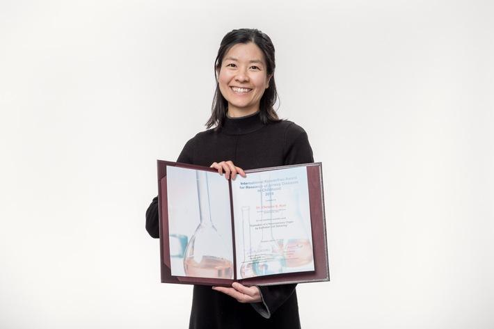 Wenn Lungenzellen wandern / 'Klosterfrau Forschungspreis 2016' für neue Erkenntnisse in der Grundlagenforschung zu Lungenerkrankungen verliehen