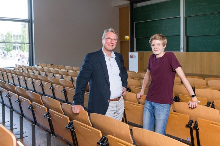 Mit 14 Jahren jüngster Student Deutschlands: Informatik-Crack geht ans Potsdamer Hasso-Plattner-Institut