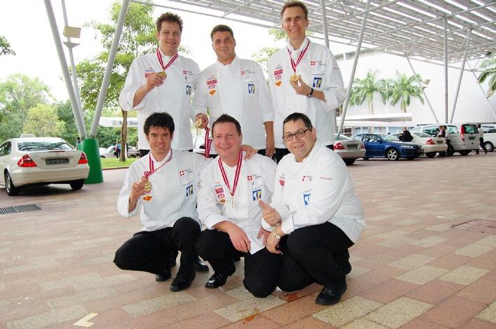 Schweizer Kochteams brillieren in Singapur