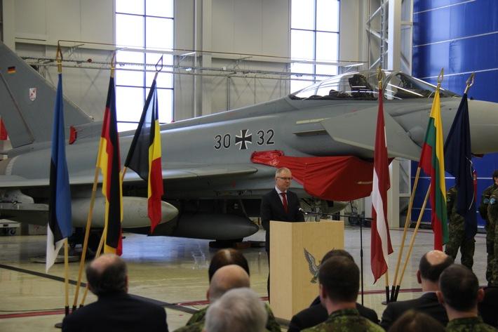 Deutsche Luftwaffe beendet ihren Einsatz im Baltikum