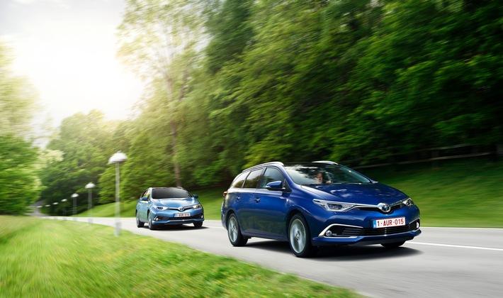 La nouvelle Toyota Auris - une force de caractère et de nouveaux moteurs