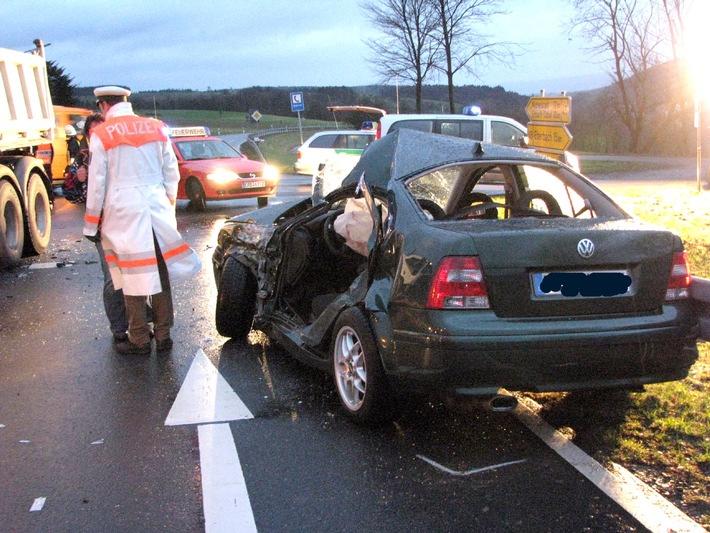 PPSH-ERB: Beerfelden - Schwerer Verkehrsunfall