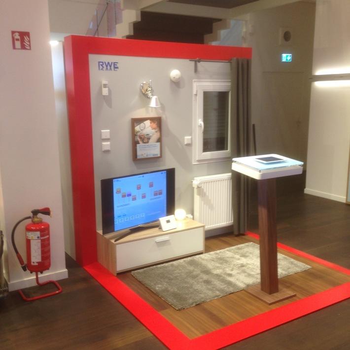 RWE SmartHome erleben bei Vodafone auf dem Jungfernstieg