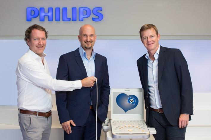HSV-Presseservice: HSV sichert sich Philips als neuen Medizintechnikpartner