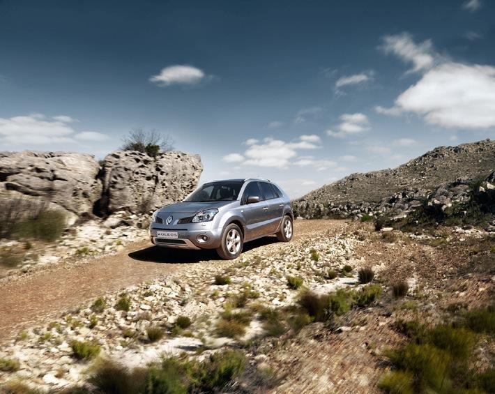 Der neue Renault Koleos - Komfortabel und sicher auf allen Wegen