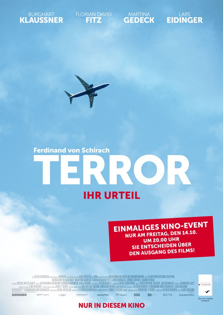 TERROR-IHR URTEIL - Das Medienereignis des Jahres